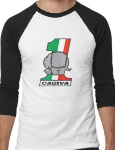 CAGIVA MOTORCYCLES Men's Baseball ¾ T-Shirt