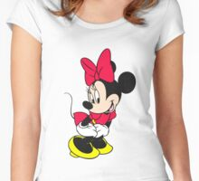 Minnie Mouse for HER Women's Fitted Scoop T-Shirt