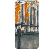 Autumn Promenade iPhone Case/Skin
