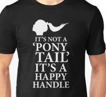 Ponytail Happy Handle, BDSM T-shirt Unisex T-Shirt