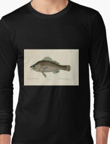Natural History Fish Histoire naturelle des poissons Georges V1 V2 Cuvier 1849 127 Long Sleeve T-Shirt
