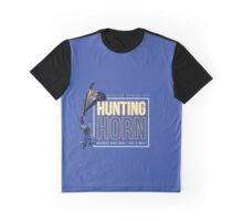 Hunting Horn - Monster Hunter Generations Graphic T-Shirt