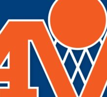 Cleveland Cavs V Sticker