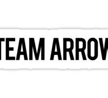 Team Arrow Sticker