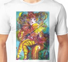 PIERO PLAYING VIOLIN / Venetian Carnival Night Unisex T-Shirt