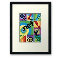DotNet Framed Print