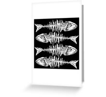 Fishbone Greeting Card