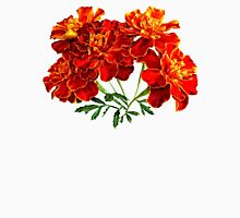 Bouquet of Marigolds Womens Fitted T-Shirt