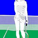 Tennis skirt by Michael Birchmore