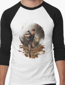 Games :: Uncharted 4 :: Art Men's Baseball ¾ T-Shirt