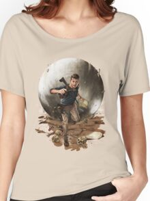 Games :: Uncharted 4 :: Art Women's Relaxed Fit T-Shirt