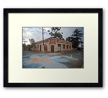 Streetscape - the Furrier Framed Print