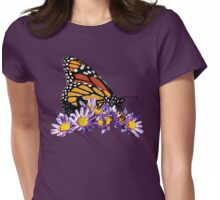 Monarch on Purple Flowers T-Shirt