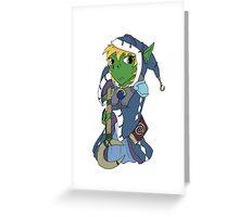 Goblin Wizard Greeting Card