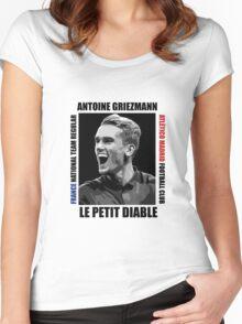 Antoine Griezmann - Vector Women's Fitted Scoop T-Shirt