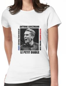 Antoine Griezmann - Vector Womens Fitted T-Shirt