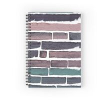 Colorful abstract stains Spiral Notebook