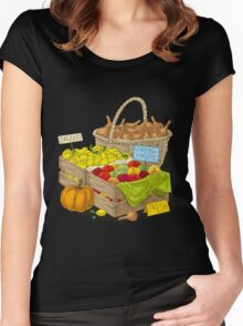 Harvest Women's Fitted Scoop T-Shirt
