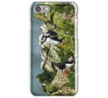 Puffin flight iPhone Case/Skin