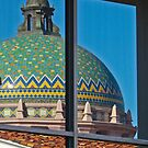 The courthouse dome by Linda Sparks