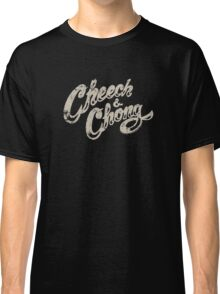 Cheech And Chong Vintage Logo 70's Classic T-Shirt