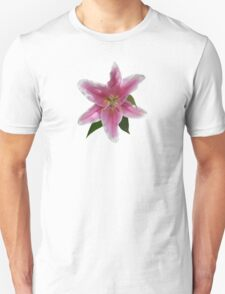 Single Stargazer Lily Unisex T-Shirt