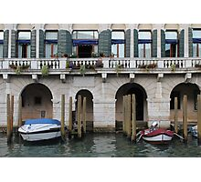 Along the Grand Canal Photographic Print