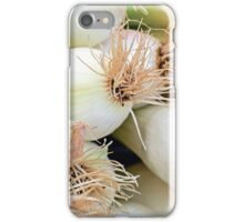 Spring onions iPhone Case/Skin