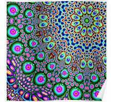 Abstract Array of Colors Poster