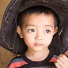 Black Thai Boy Dien Bien PHu by Andrew  Makowiecki