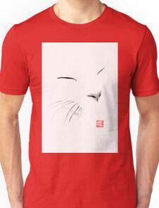 white cat Unisex T-Shirt
