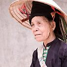 Old Black Thai Woman by Andrew  Makowiecki