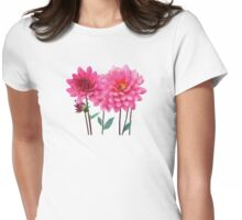 Row of Pink Dahlias T-Shirt