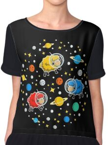 Space Sheep Chiffon Top