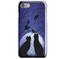 Listen to the Silence at Night iPhone Case/Skin