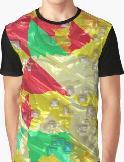 Colorful 3D texture Graphic T-Shirt