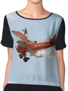 Biplane Wing walker  Chiffon Top