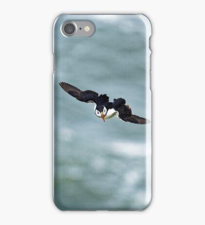 Puffin glide iPhone Case/Skin