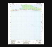 USGS TOPO Map Alabama AL St Andrews Bay 305097 1980 24000 Unisex T-Shirt