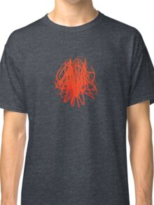 Speckle Gravity Red Classic T-Shirt