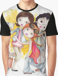 Getting a selfie... Graphic T-Shirt
