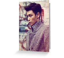 TOP BigBang Kpop Korea Choi Seung Hyun Greeting Card