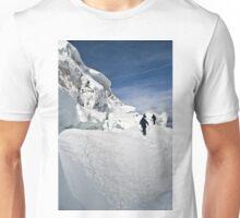 climbing weissmies  Unisex T-Shirt