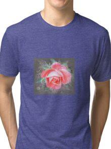 zarte Rose... Tri-blend T-Shirt
