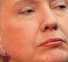 Donald Hillary Trump Clinton 2016 President Sticker