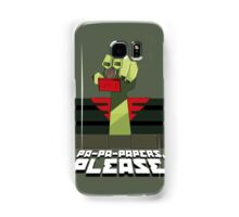PA-PA-PAPERS, PLEASE!!! Samsung Galaxy Case/Skin