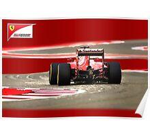 Scuderia Ferrari Poster