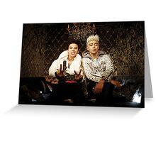 BigBang GD&TOP Kpop Big Bang Top G Dragon Greeting Card