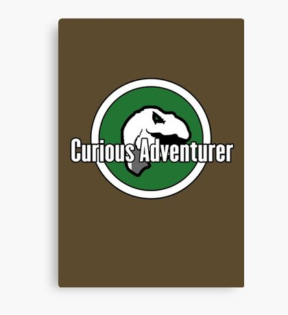 Curious Adventurer Canvas Print