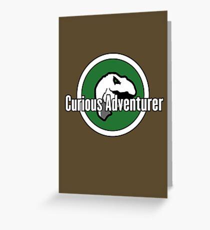Curious Adventurer Greeting Card